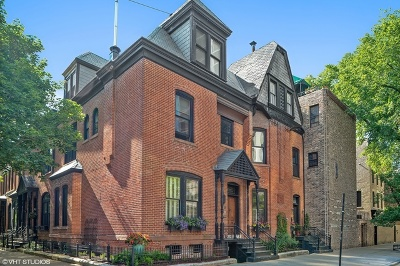 Single Family Home For Sale: 1728 North Wells Street