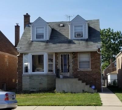 Portage Park Single Family Home For Sale: 6117 West Gunnison Street