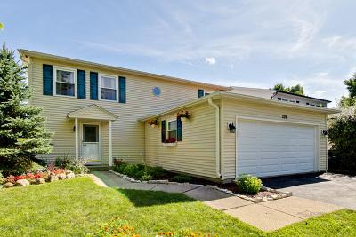 Vernon Hills Single Family Home Price Change: 709 North Lakeside Drive