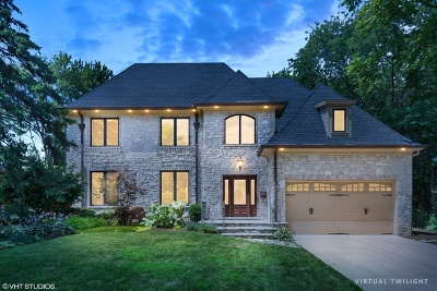 Hinsdale Single Family Home Price Change: 440 North Quincy Street