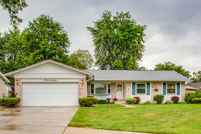 Elk Grove Village Single Family Home Contingent: 322 Dorchester Lane