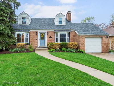 Western Springs Single Family Home For Sale: 4204 Gilbert Avenue