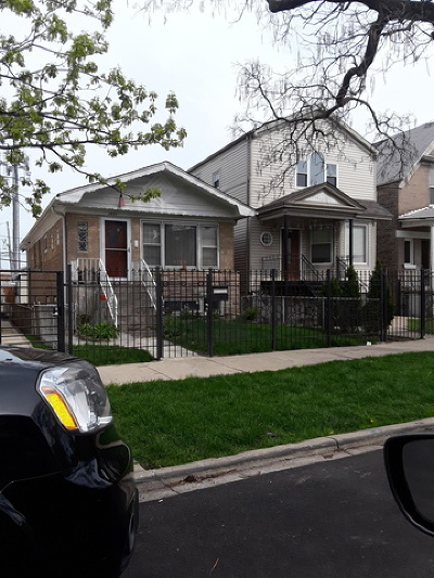 Single Family Home For Sale: 2821 North Mozart Street