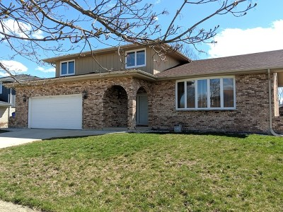 Orland Park Single Family Home Price Change: 11827 Oregon Trail