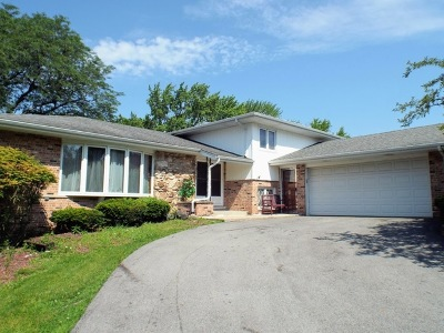 Palos Heights Single Family Home For Sale: 12844 South Winnebago Road