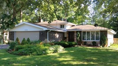 Wood Dale Single Family Home For Sale: 330 Hiawatha Trail
