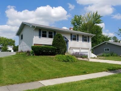 Hoffman Estates Single Family Home Price Change: 1140 Hermitage Lane
