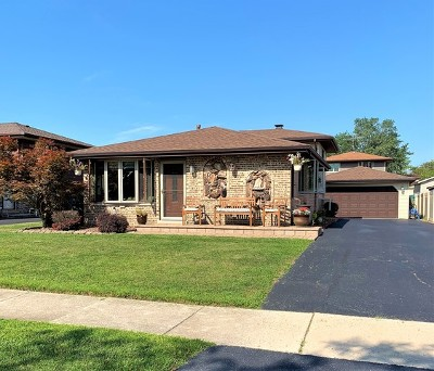 Orland Hills Single Family Home Contingent: 16734 89th Avenue