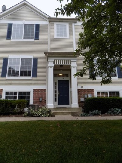 Bolingbrook Condo/Townhouse For Sale: 112 Enclave Circle #D
