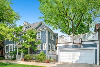 Single Family Home For Sale: 4455 North Greenview Avenue