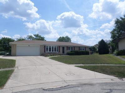 Schaumburg Single Family Home For Sale: 331 Elmont Court