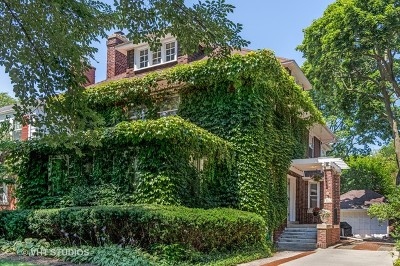 Evanston Single Family Home For Sale: 811 Monticello Place