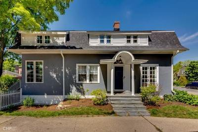 Evanston Single Family Home For Sale: 1434 Dempster Street