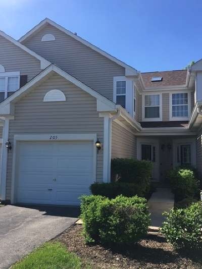 Lake In The Hills Condo/Townhouse For Sale: 205 Northlight Passe