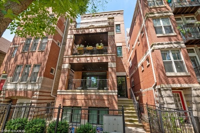 Condo/Townhouse For Sale: 922 West Wolfram Street #3