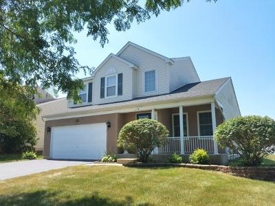 Bartlett Single Family Home New: 118 Cedarfield Drive