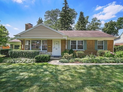 Clarendon Hills Single Family Home Price Change: 30 Indian Drive