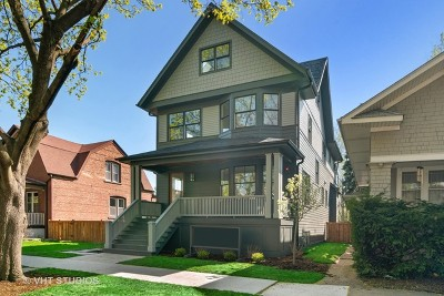 Oak Park Single Family Home Contingent: 1114 South Scoville Avenue