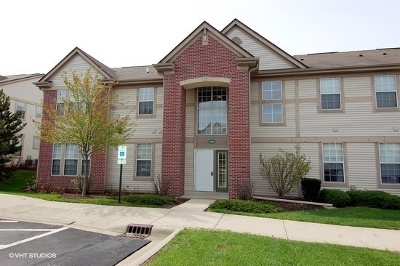 Crystal Lake Condo/Townhouse Re-Activated: 1665 Carlemont Drive #C