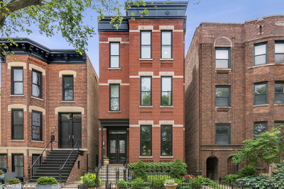 Single Family Home For Sale: 449 West Webster Avenue