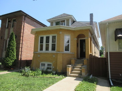 Mayfair Single Family Home For Sale: 4613 North Kedvale Avenue