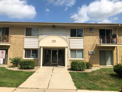 Clarendon Hills Condo/Townhouse Re-Activated: 550 Chase Dr Lane #8