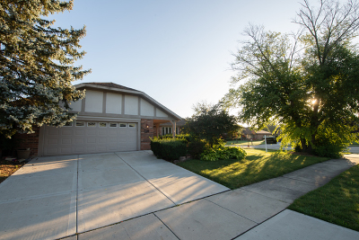 Orland Park Single Family Home Price Change: 8206 Bromley Street