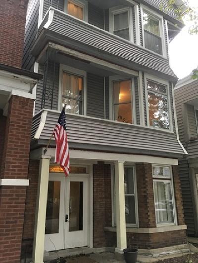 Roscoe Village Rental For Rent: 3249 North Hoyne Avenue #3