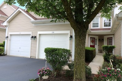 Lake In The Hills Condo/Townhouse For Sale: 1136 Heartland Gate