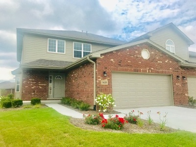 Tinley Park Condo/Townhouse For Sale: 9409 Parkwood Lane