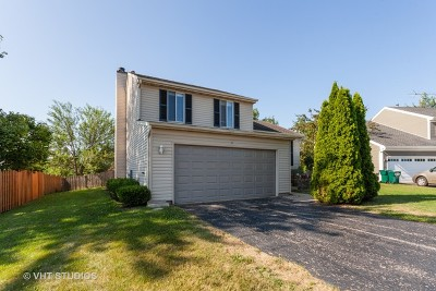 Streamwood Single Family Home For Sale: 3 Woodview Court