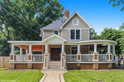 Wheaton Single Family Home For Sale: 213 East Lincoln Avenue