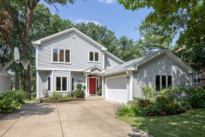 Downers Grove Single Family Home For Sale: 4902 Wallbank Avenue