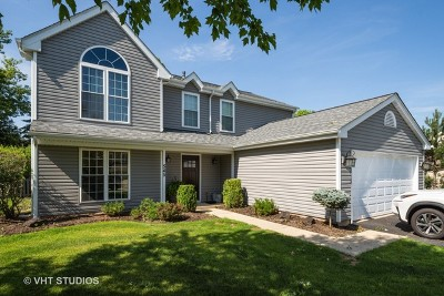 Lake Zurich Single Family Home Contingent: 545 Shallow Cove Road