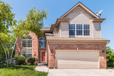Streamwood Single Family Home For Sale: 20 Eagle Court