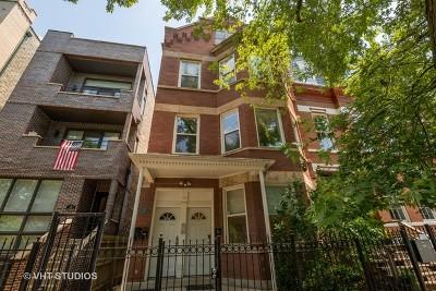 Condo/Townhouse For Sale: 917 North Hermitage Avenue #1