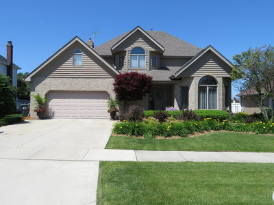 Orland Park Single Family Home Contingent: 16630 Paw Paw Avenue