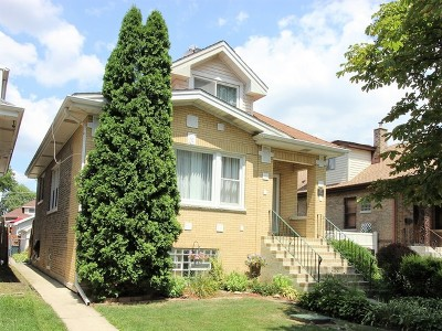 Elmwood Park Single Family Home Price Change: 7904 West Barry Avenue