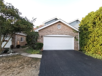 Orland Park Condo/Townhouse For Sale: 17388 Brook Crossing Lane