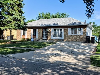 Streamwood Single Family Home Price Change: 729 Stowell Avenue