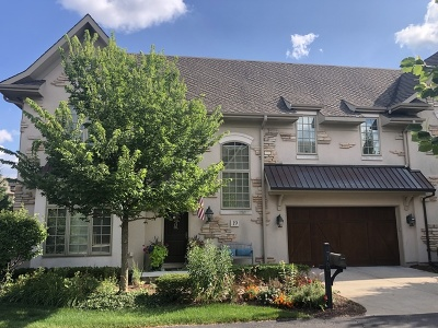 Oak Brook Condo/Townhouse For Sale: 19 Willowcrest Drive