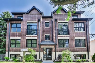 Condo/Townhouse For Sale: 4845 North Keystone Avenue #1S