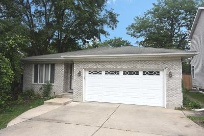 Downers Grove Single Family Home For Sale: 1030 Adelia Street