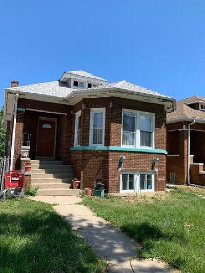 Belmont Cragin Single Family Home For Sale: 4742 West Altgeld Street