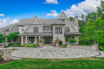 Burr Ridge IL Single Family Home For Sale: $8,500,000