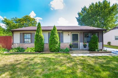Bolingbrook Single Family Home Contingent: 269 Rockhurst Road