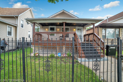 Chicago Single Family Home New: 5644 West Augusta Boulevard