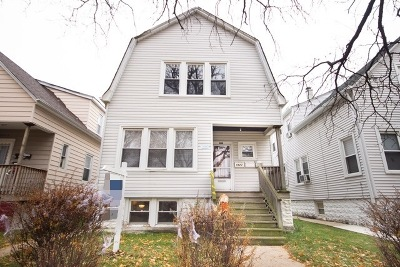 Chicago Multi Family Home Contingent: 5923 West Eastwood Avenue