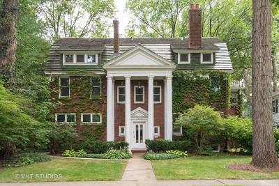 Evanston Single Family Home For Sale: 2404 Lincoln Street