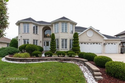 Orland Park Single Family Home For Sale: 11242 Autumn Ridge Drive